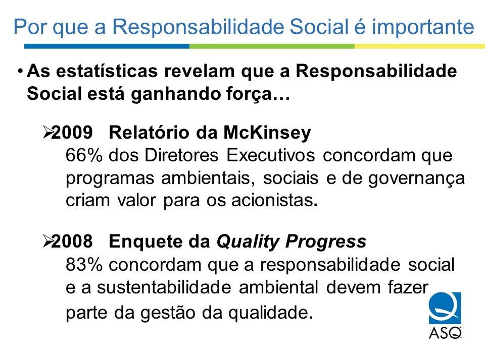 Por que a Responsabilidade Social é importante