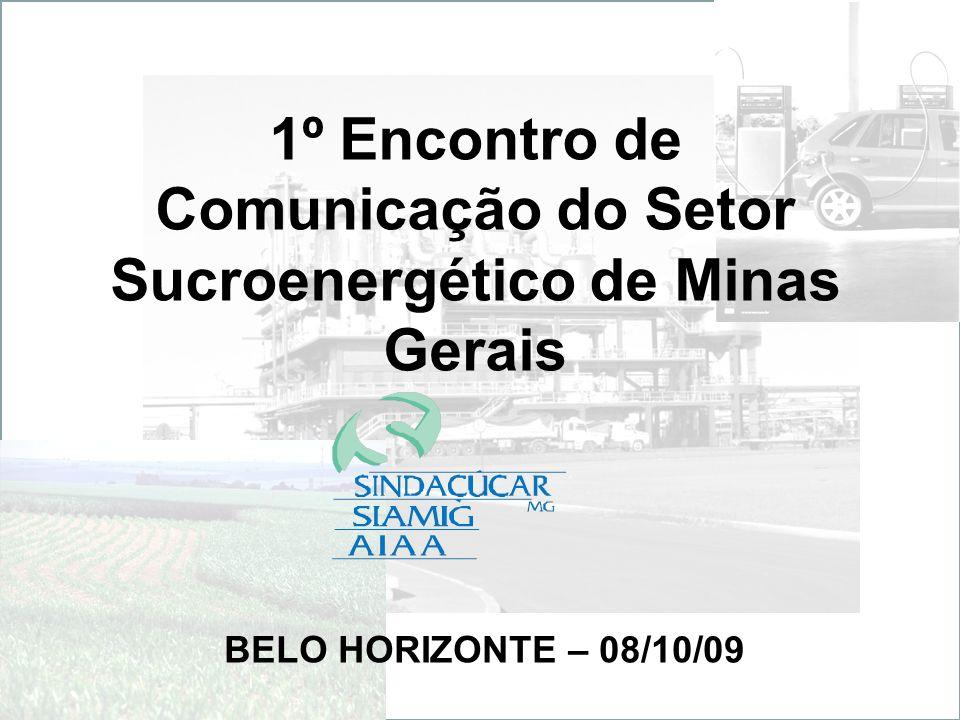 1º Encontro de Comunicação do Setor Sucroenergético de Minas Gerais