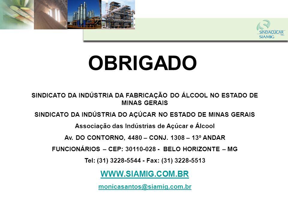 OBRIGADO WWW.SIAMIG.COM.BR
