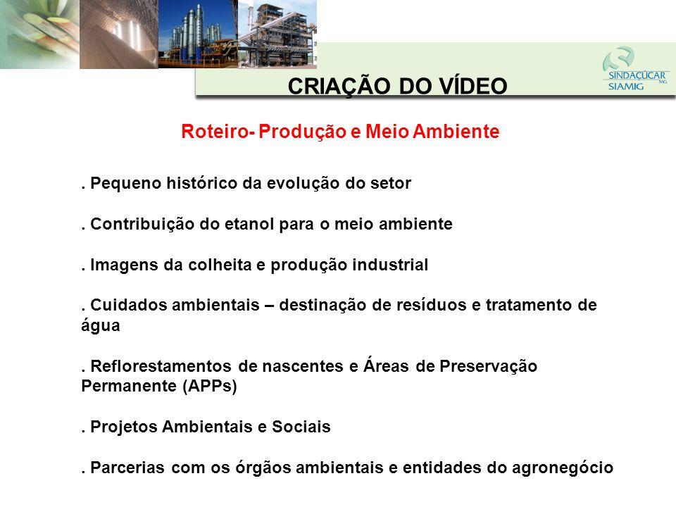 Roteiro- Produção e Meio Ambiente