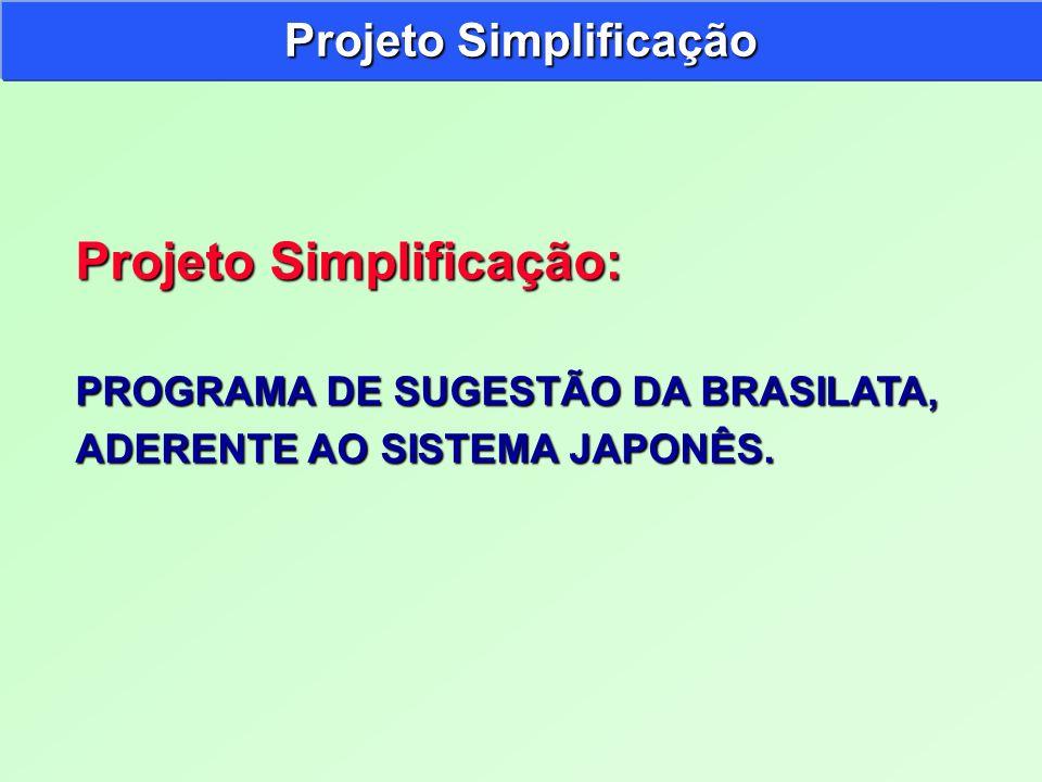 Projeto Simplificação