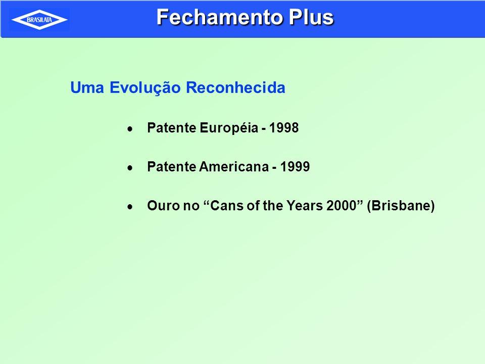 Fechamento Plus Uma Evolução Reconhecida Patente Européia - 1998