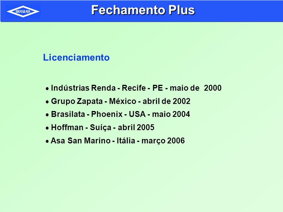Fechamento Plus Licenciamento