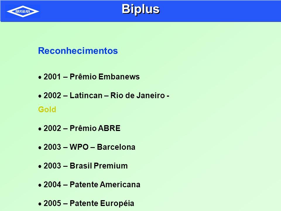Biplus Reconhecimentos 2001 – Prêmio Embanews