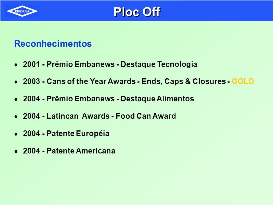 Ploc Off Reconhecimentos 2001 - Prêmio Embanews - Destaque Tecnologia