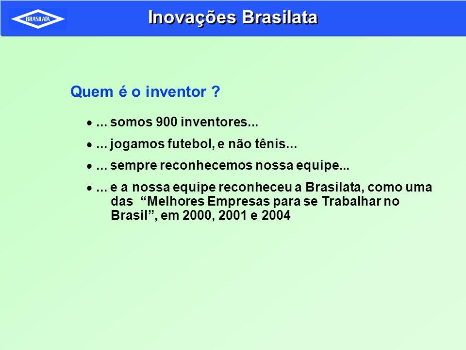 Inovações Brasilata Quem é o inventor ... somos 900 inventores...