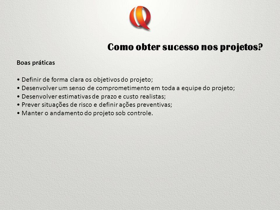 Como obter sucesso nos projetos