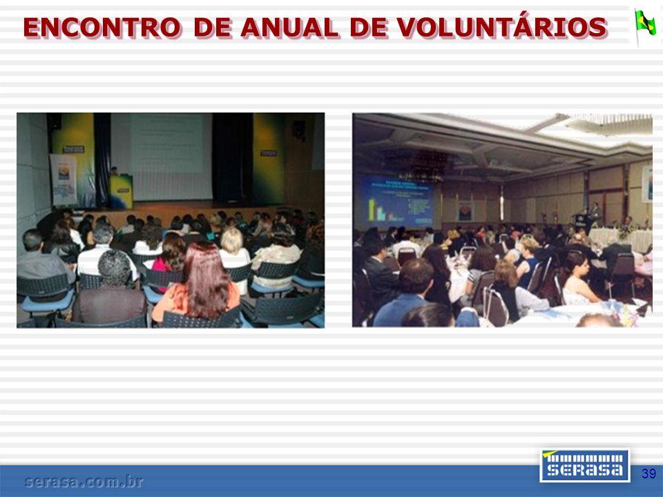 ENCONTRO DE ANUAL DE VOLUNTÁRIOS