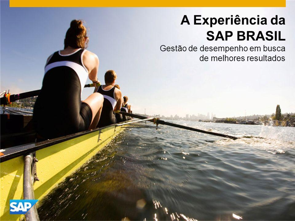 A Experiência da SAP BRASIL