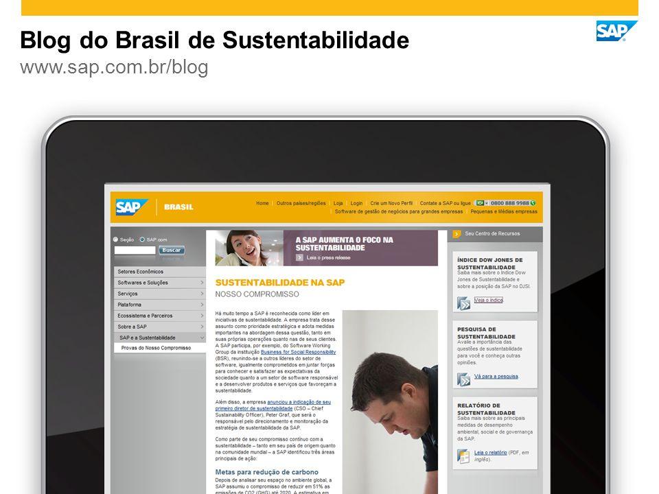 Blog do Brasil de Sustentabilidade