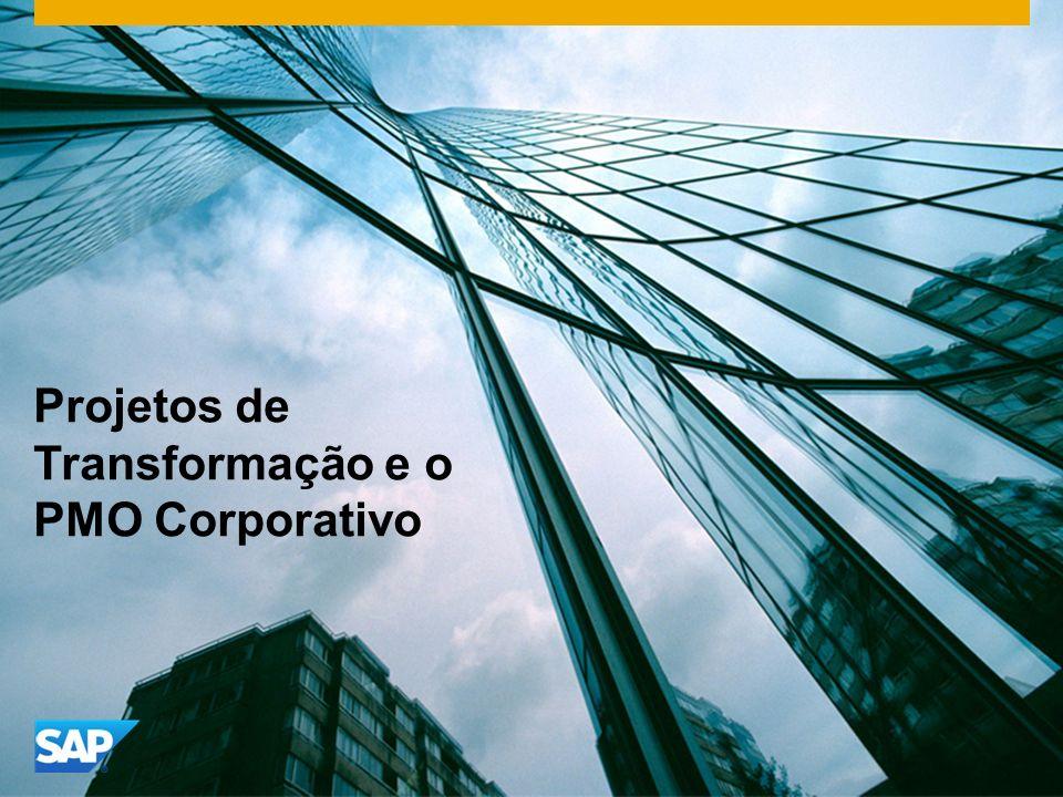 Projetos de Transformação e o PMO Corporativo