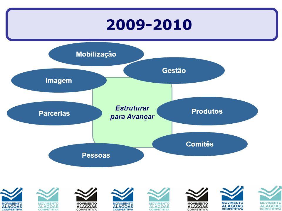 2009-2010 Mobilização Gestão Imagem Estruturar para Avançar Produtos
