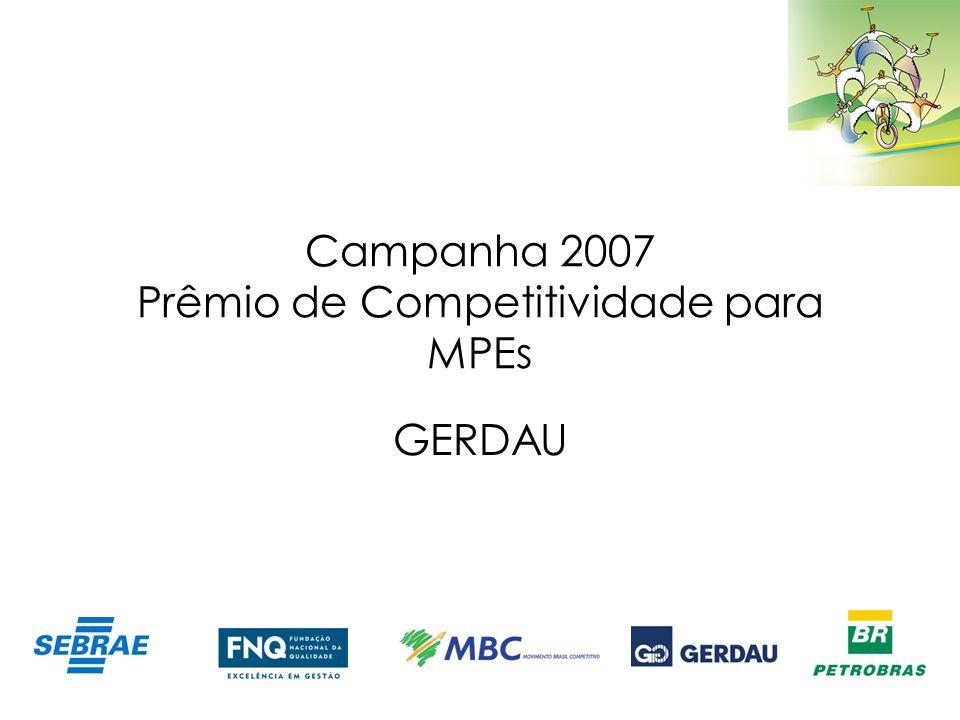 Campanha 2007 Prêmio de Competitividade para MPEs