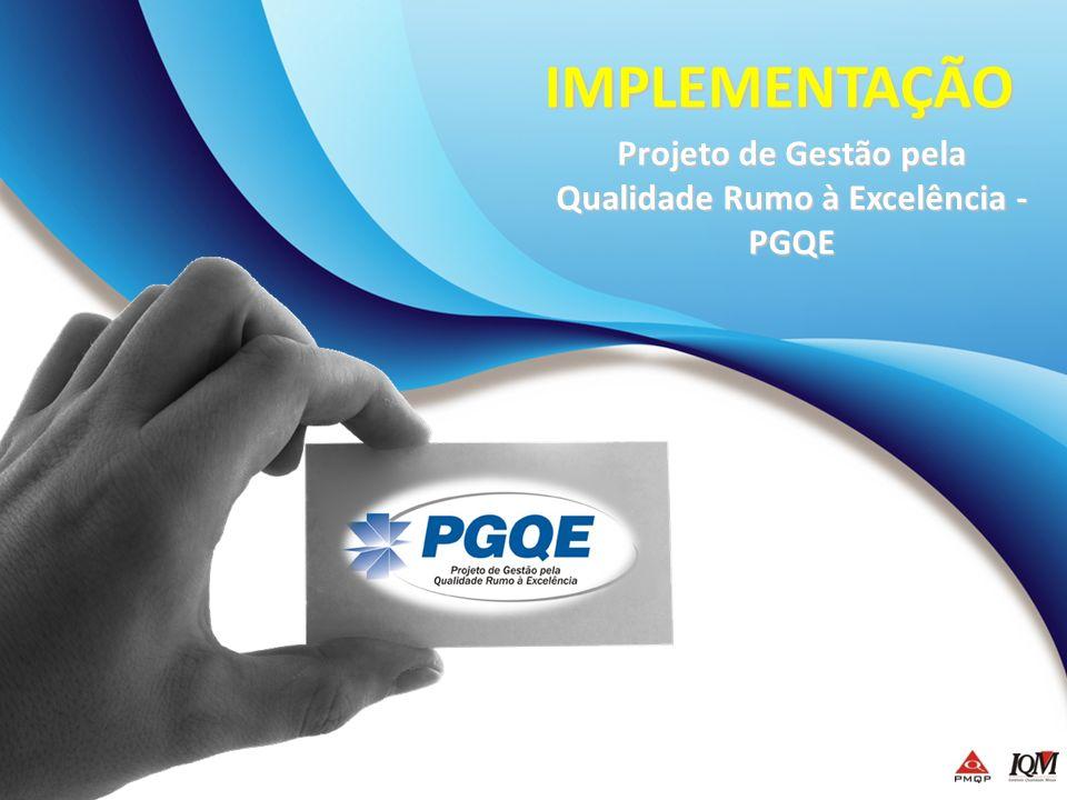 Projeto de Gestão pela Qualidade Rumo à Excelência - PGQE