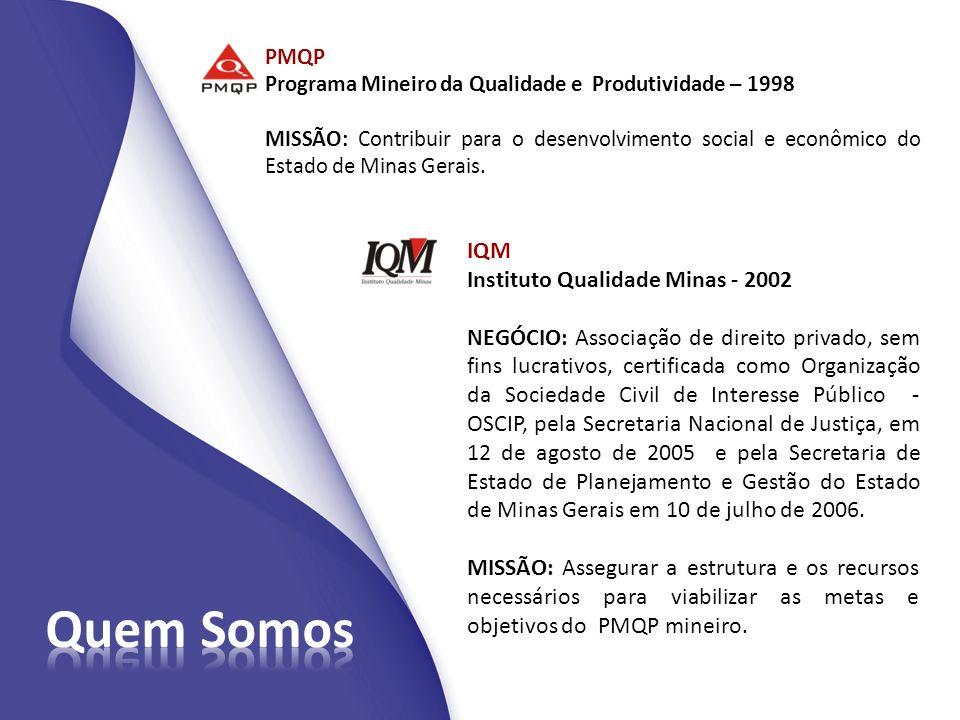Quem Somos IQM Instituto Qualidade Minas - 2002