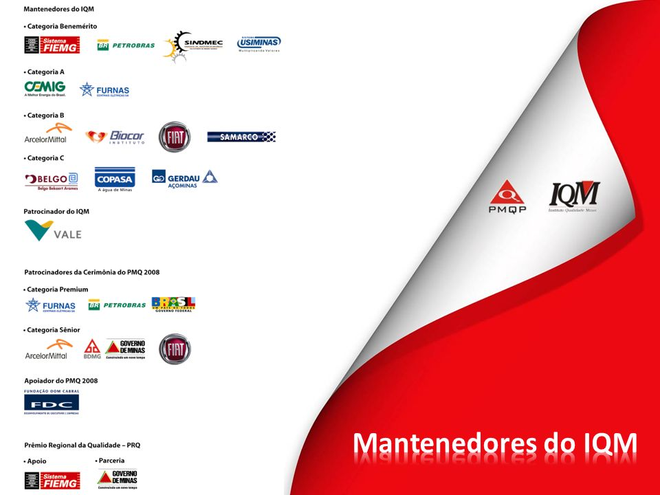 Mantenedores do IQM 3