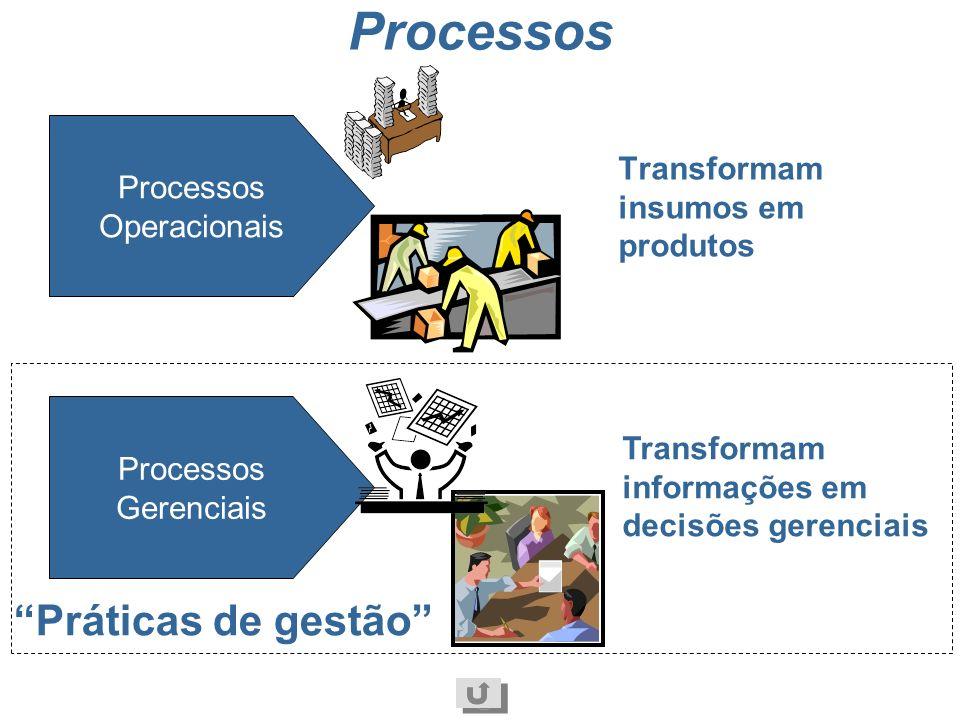 Processos Práticas de gestão Processos