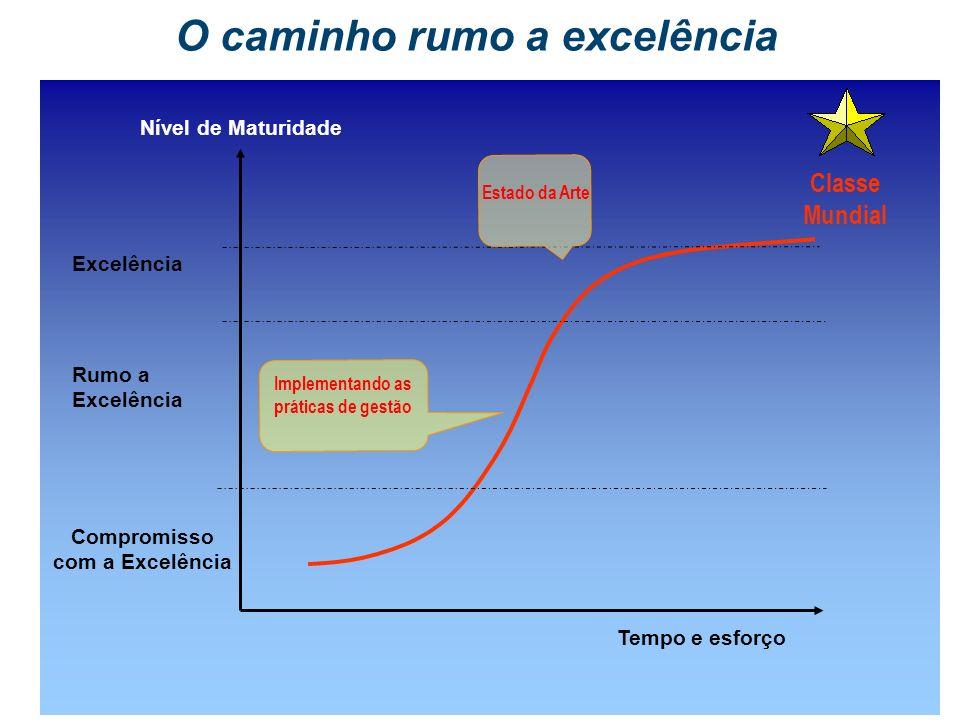 O caminho rumo a excelência