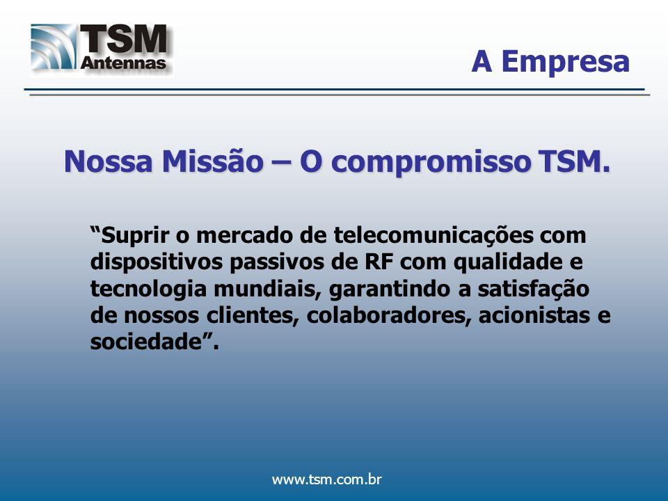 Nossa Missão – O compromisso TSM.