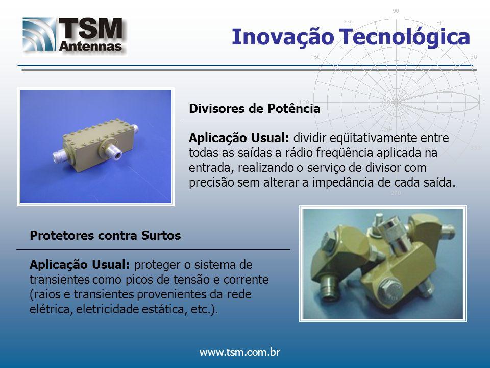 Inovação Tecnológica Divisores de Potência