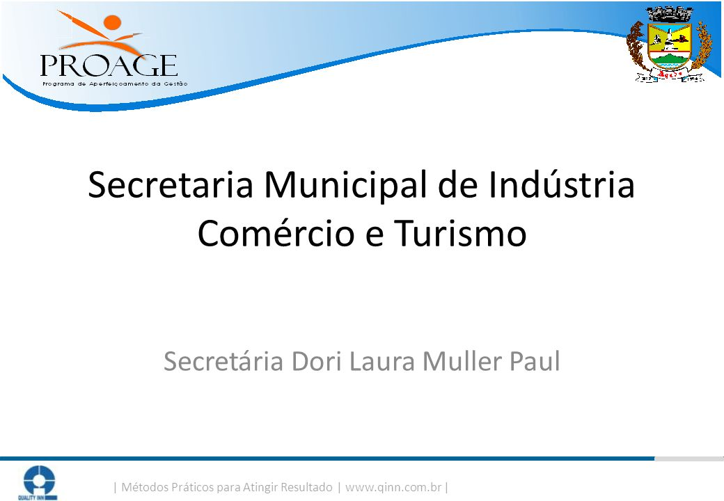 Secretaria Municipal de Indústria Comércio e Turismo