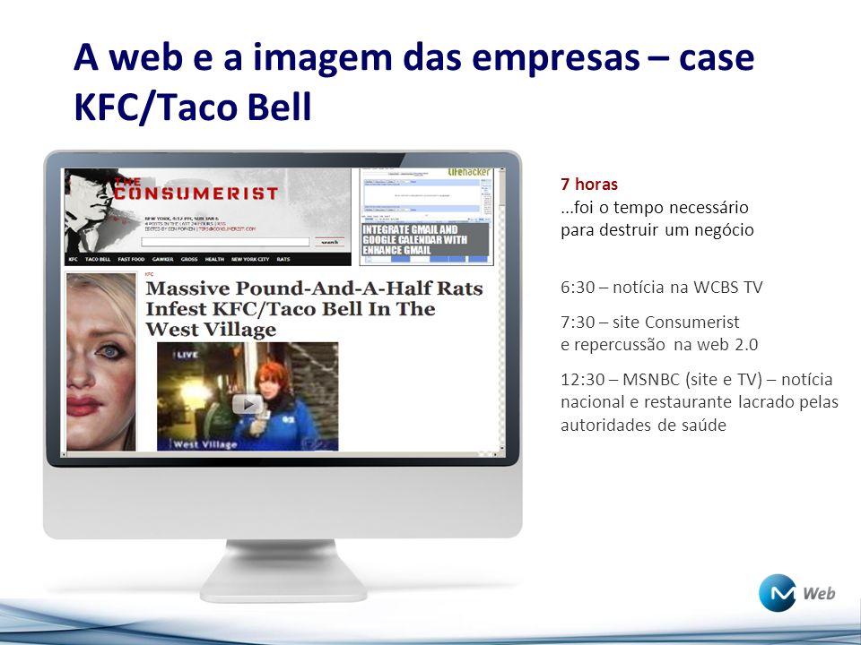 A web e a imagem das empresas – case KFC/Taco Bell