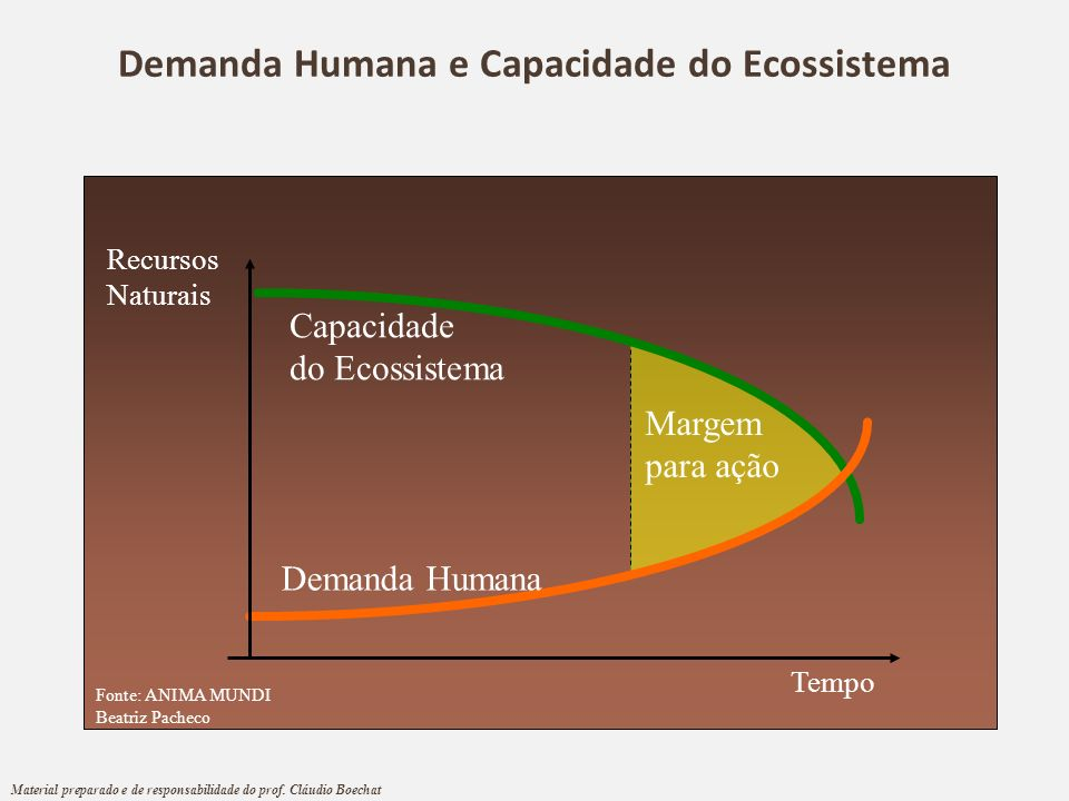 Demanda Humana e Capacidade do Ecossistema