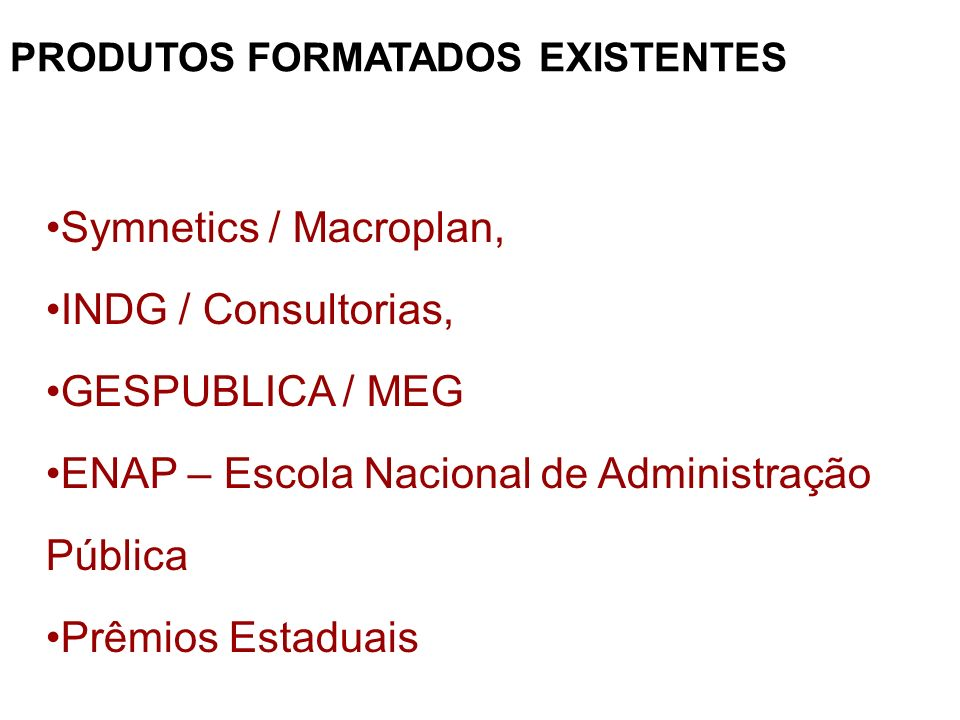 ENAP – Escola Nacional de Administração Pública