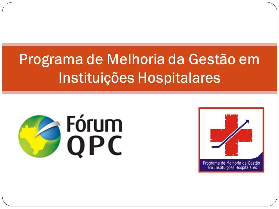 Programa de Melhoria da Gestão em Instituições Hospitalares