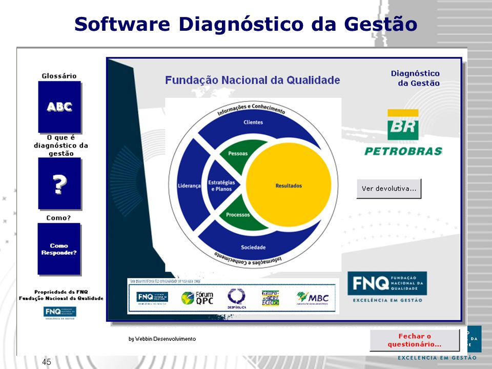 Software Diagnóstico da Gestão