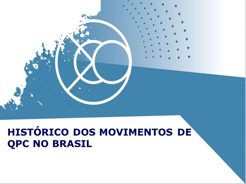 HISTÓRICO DOS MOVIMENTOS DE QPC NO BRASIL