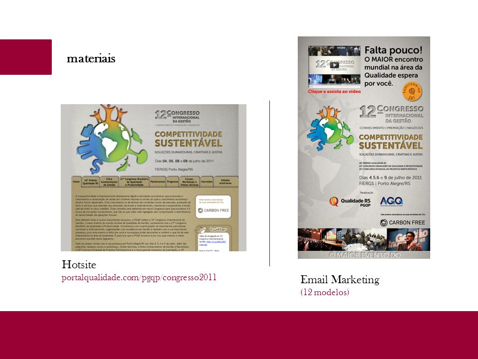 materiais Hotsite Email Marketing
