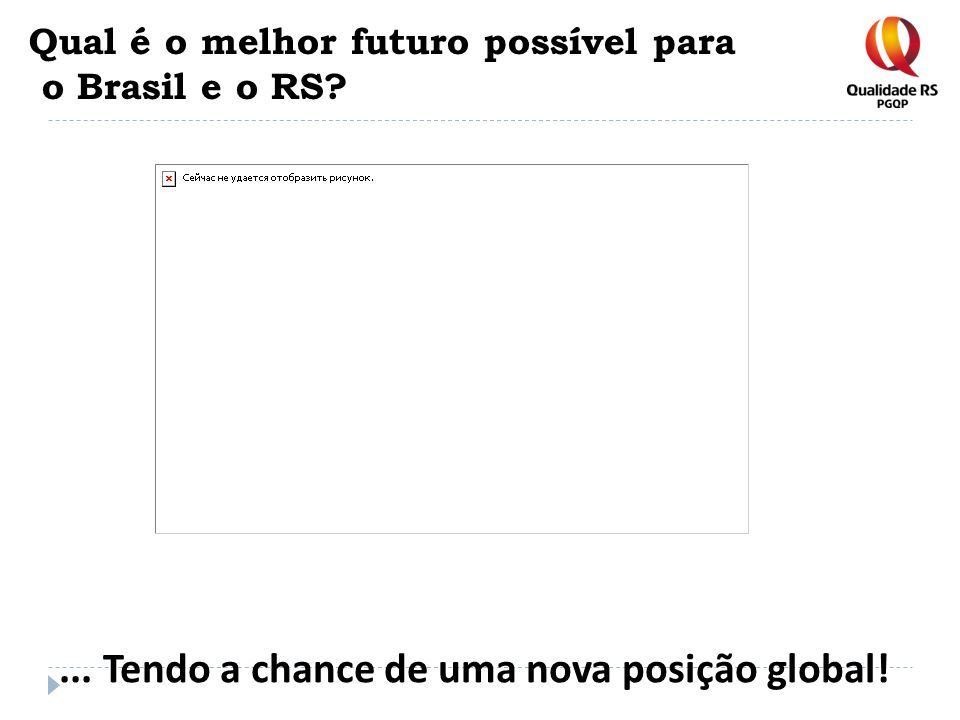 Qual é o melhor futuro possível para o Brasil e o RS