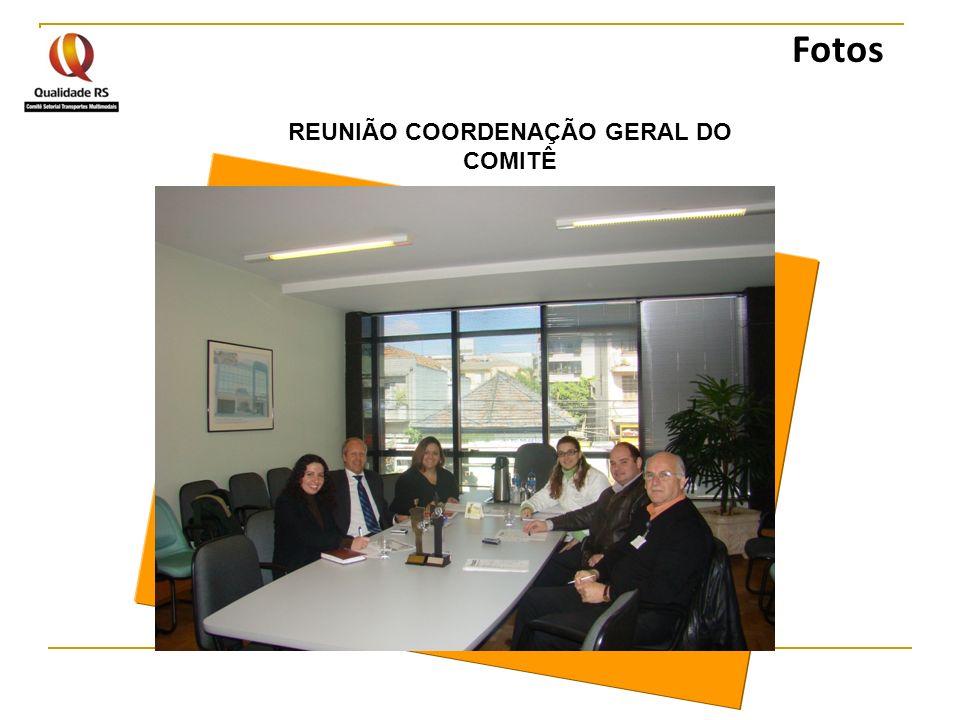 REUNIÃO COORDENAÇÃO GERAL DO COMITÊ