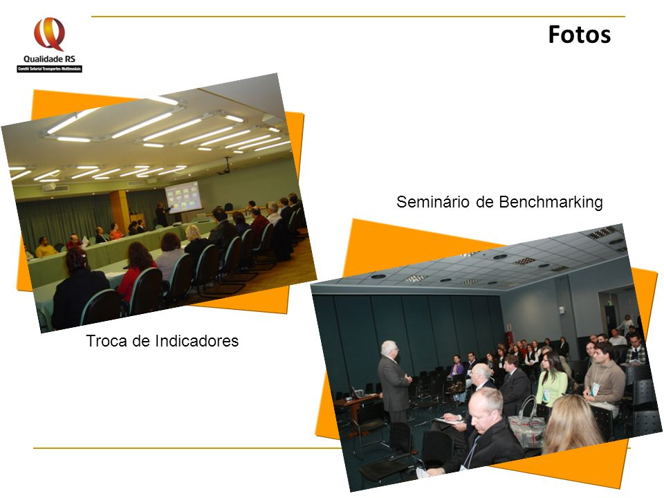 Fotos Seminário de Benchmarking Troca de Indicadores