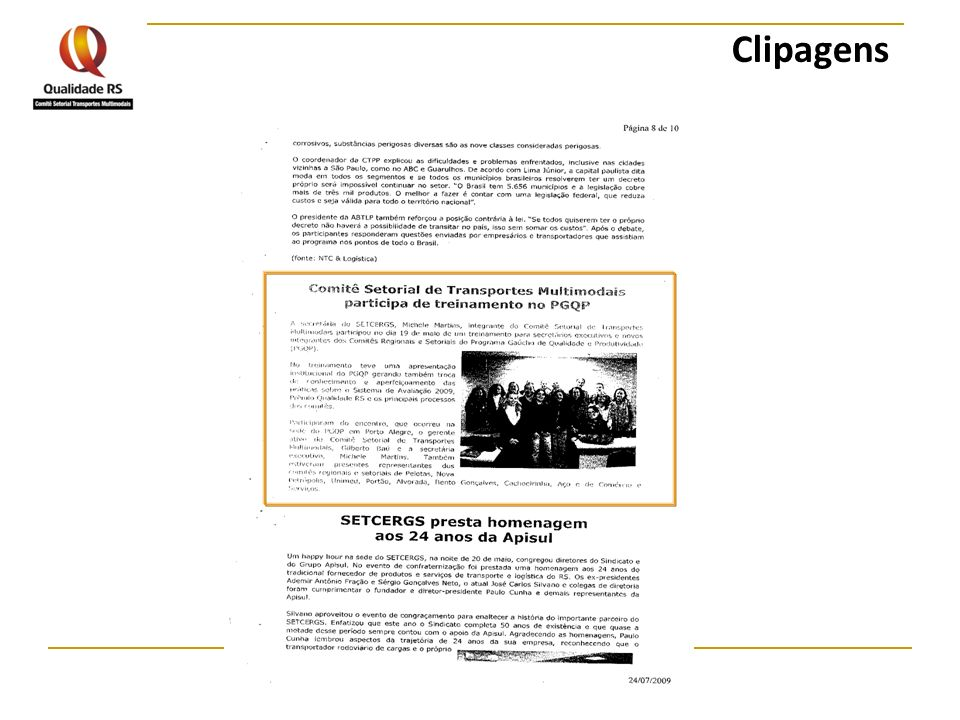 Clipagens