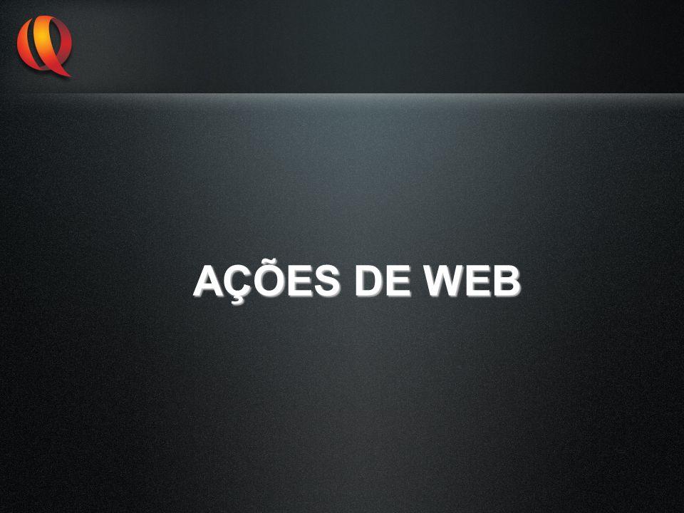 AÇÕES DE WEB