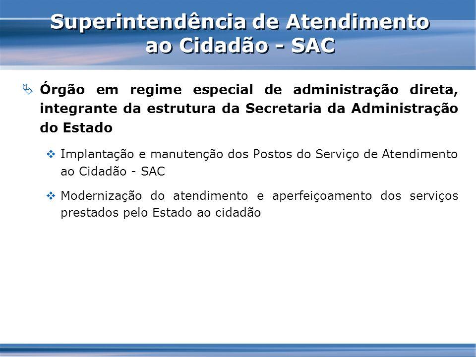 Superintendência de Atendimento ao Cidadão - SAC
