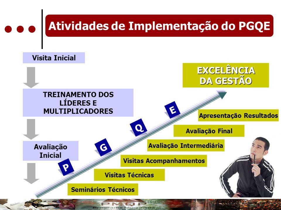 Atividades de Implementação do PGQE