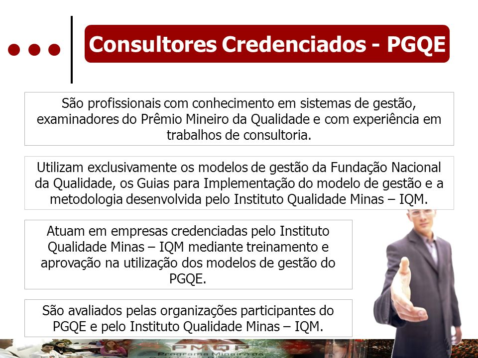 Consultores Credenciados - PGQE