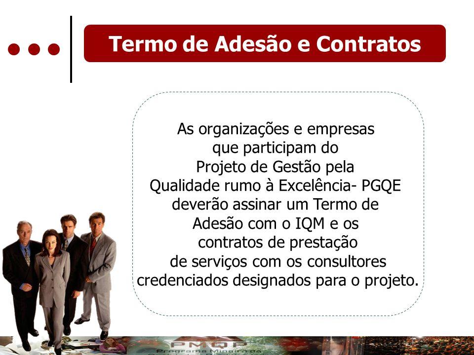 Termo de Adesão e Contratos