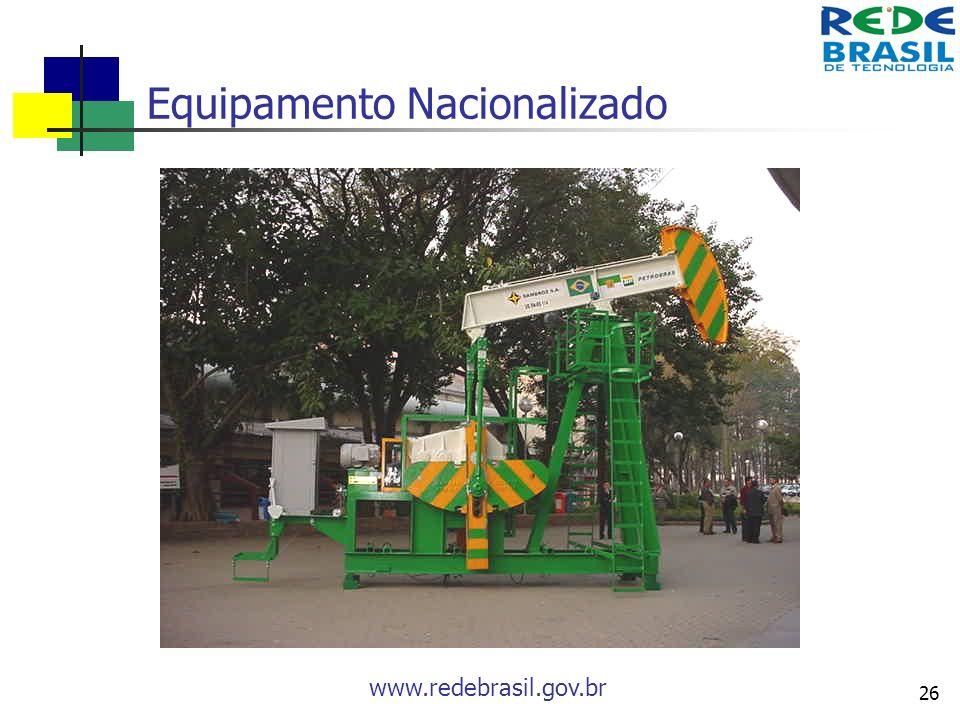 Equipamento Nacionalizado
