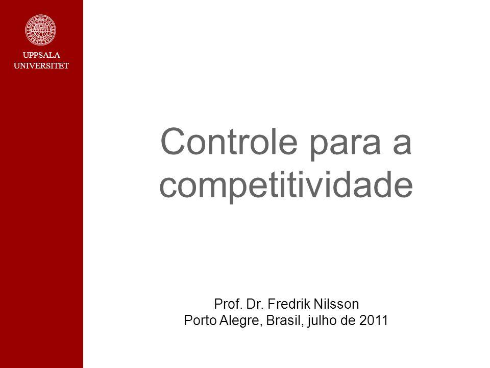 Controle para a competitividade Prof. Dr