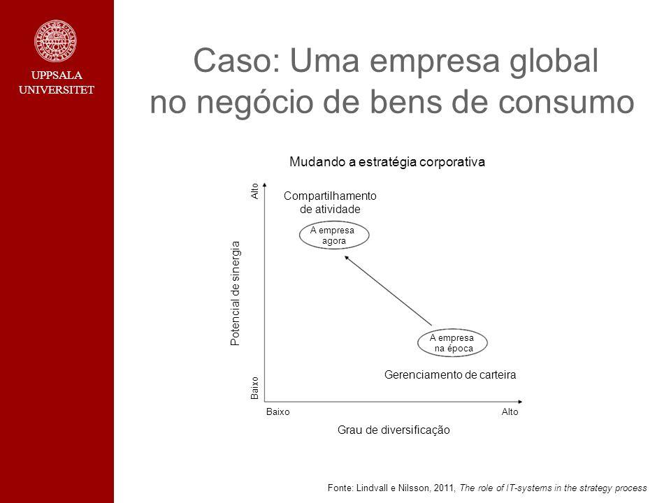 Caso: Uma empresa global no negócio de bens de consumo