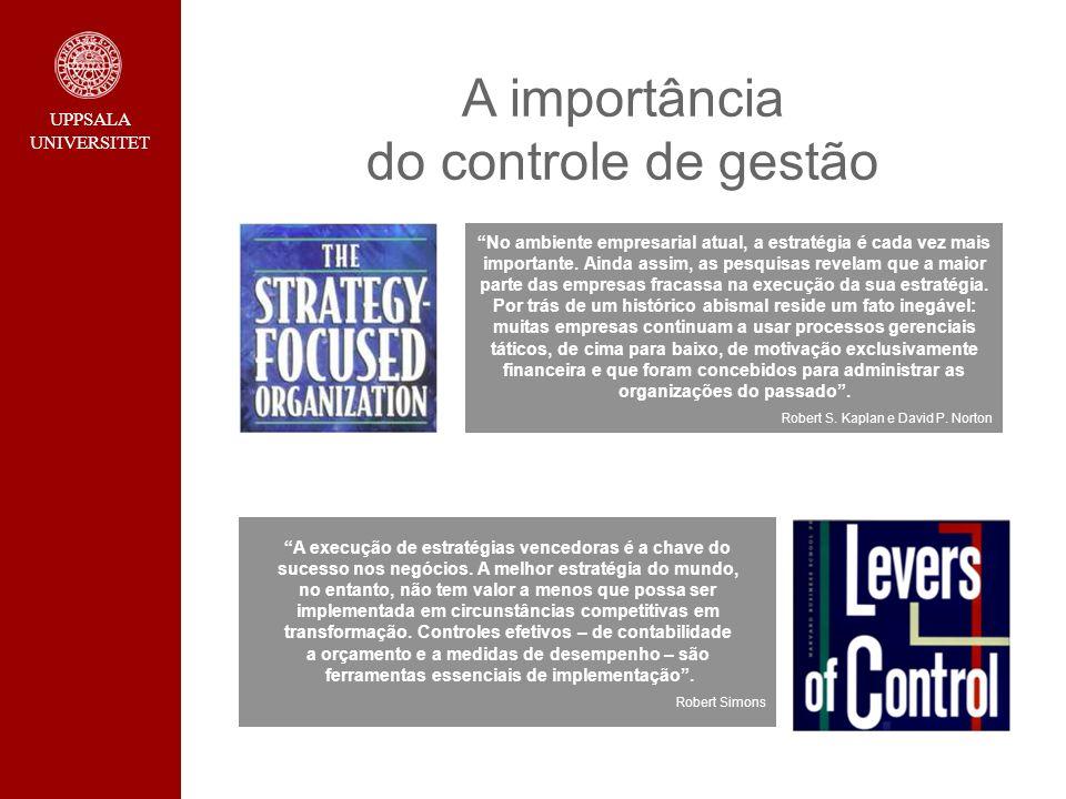 A importância do controle de gestão