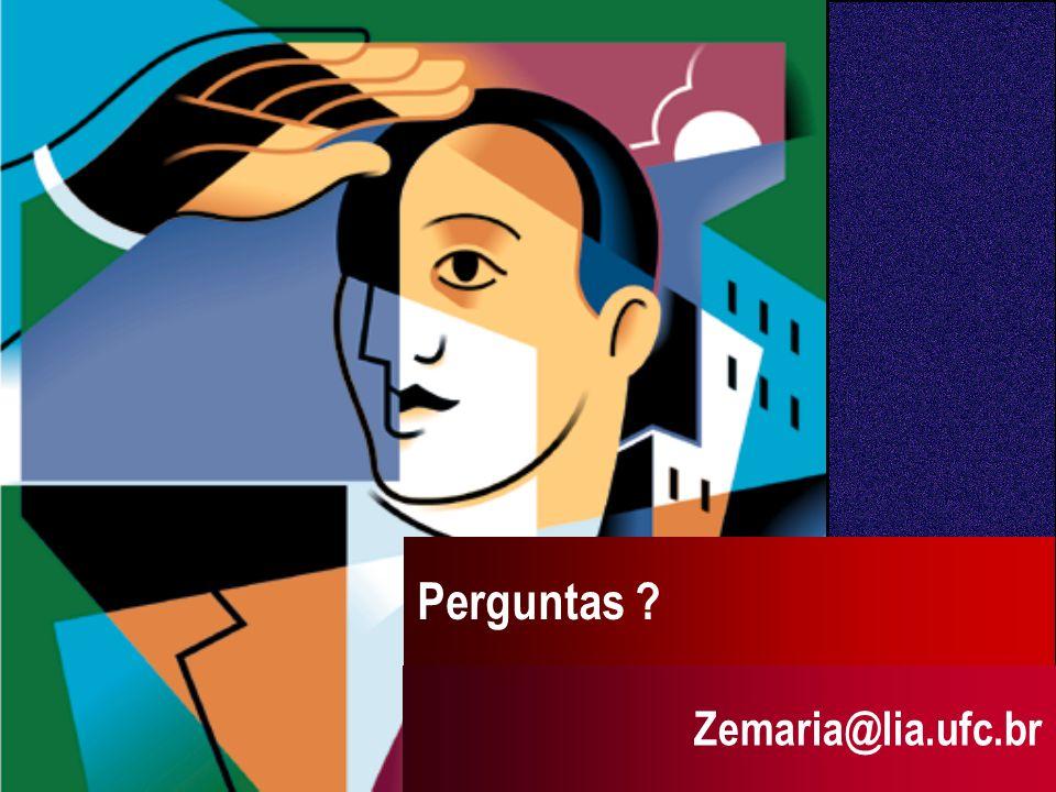Perguntas Zemaria@lia.ufc.br