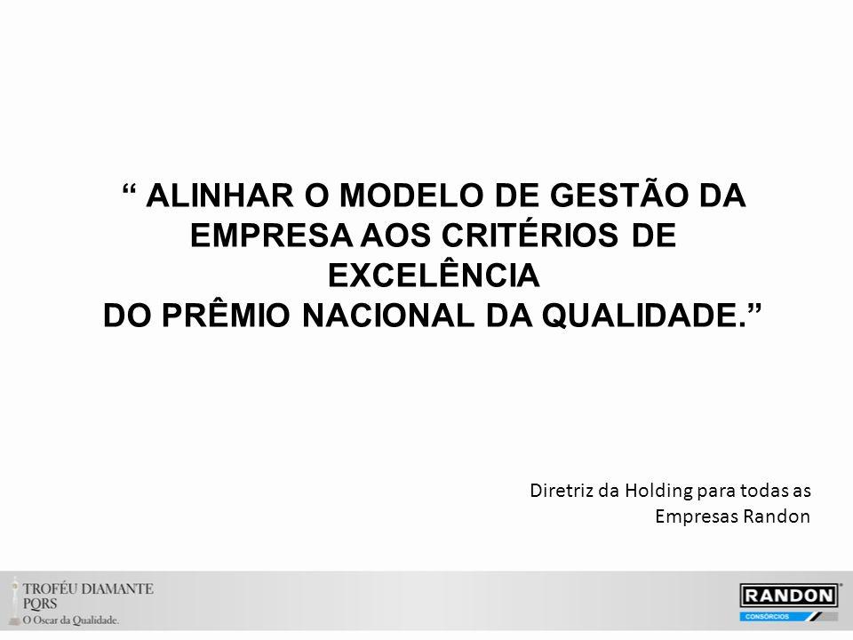 ALINHAR O MODELO DE GESTÃO DA EMPRESA AOS CRITÉRIOS DE EXCELÊNCIA