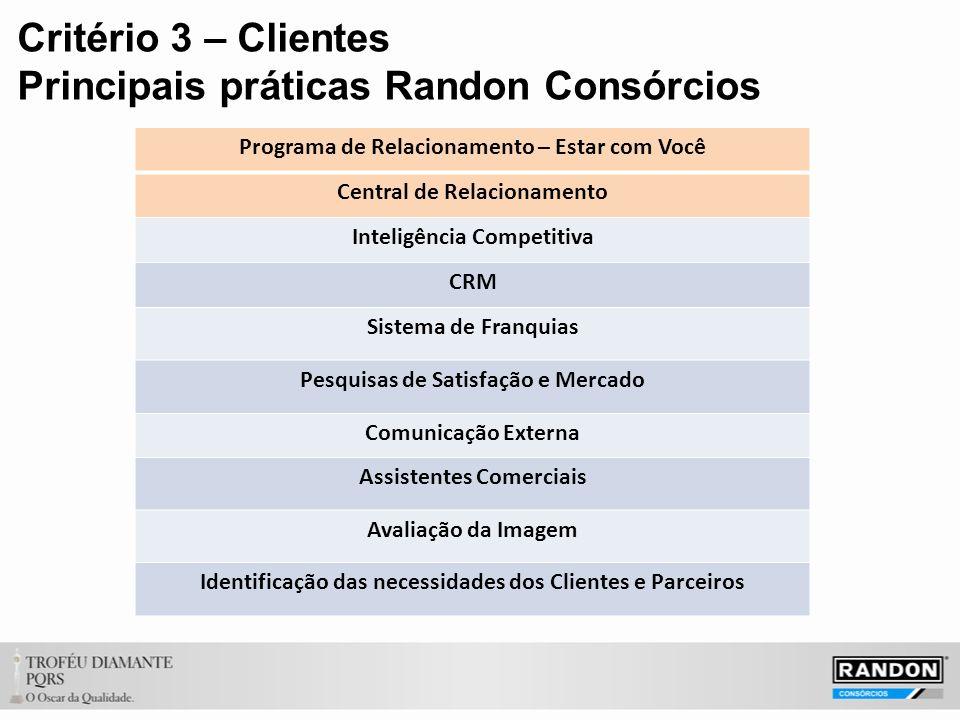 Principais práticas Randon Consórcios