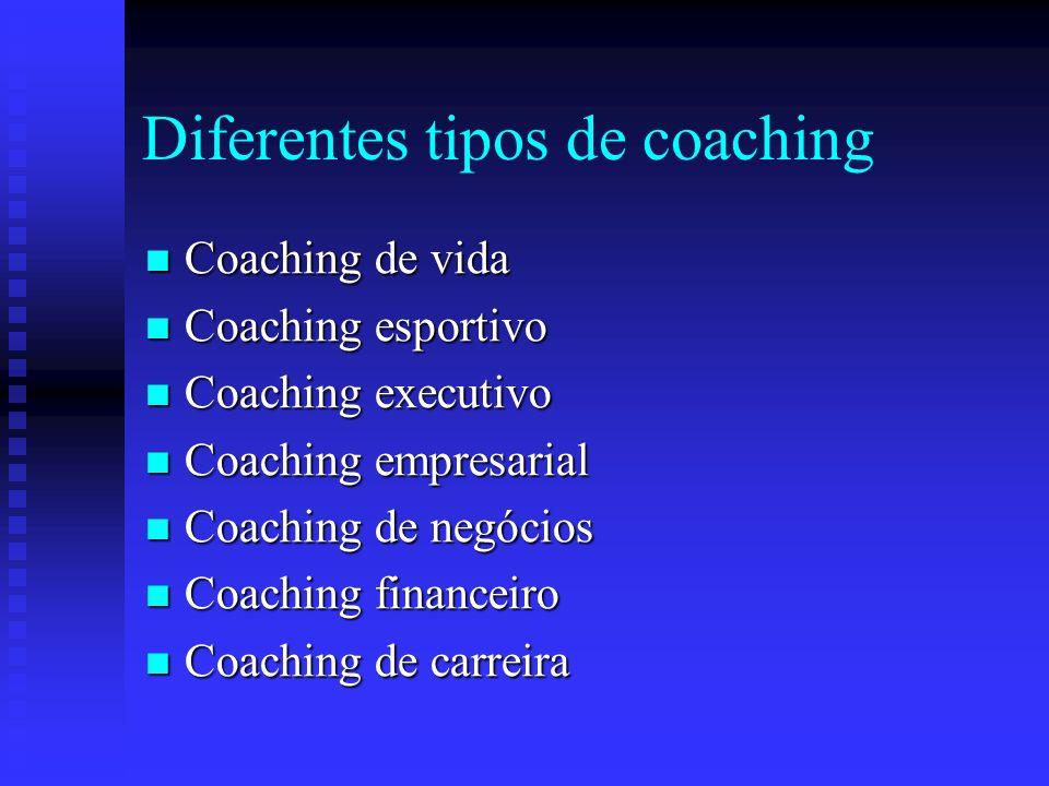 Diferentes tipos de coaching
