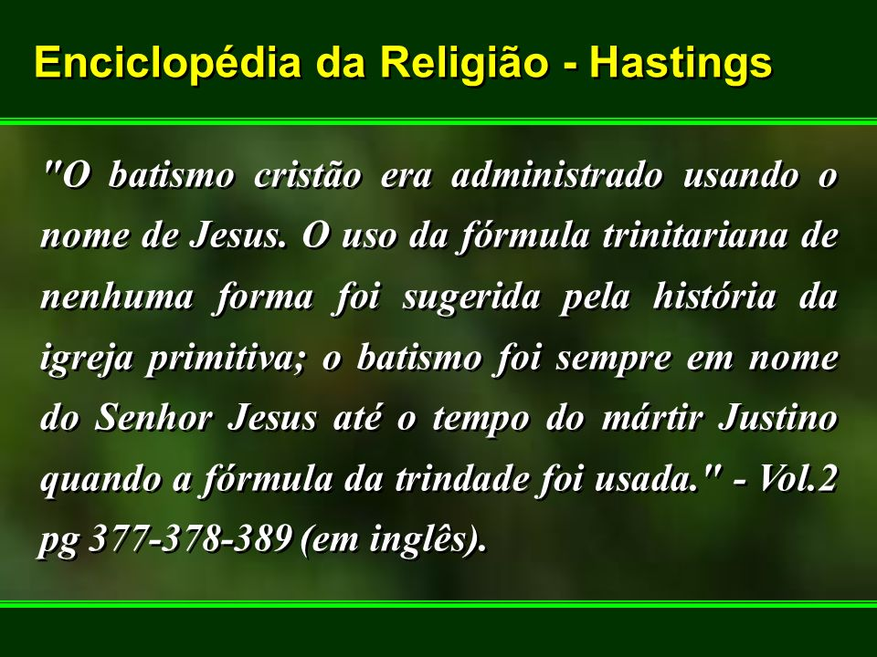 Enciclopédia da Religião - Hastings